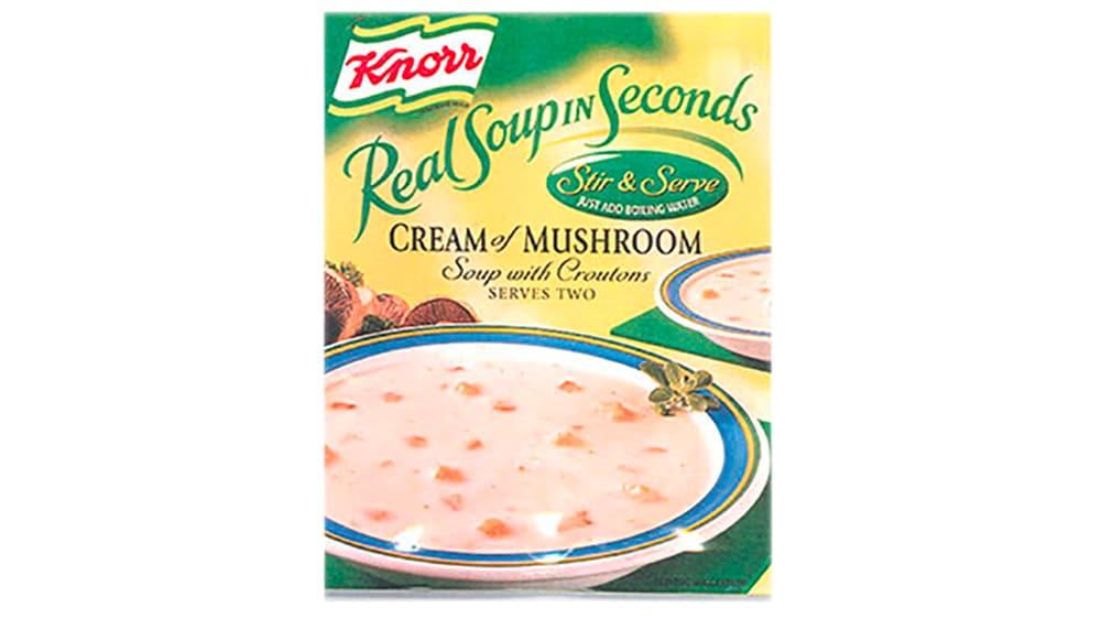 mushroom rel soup in seconds